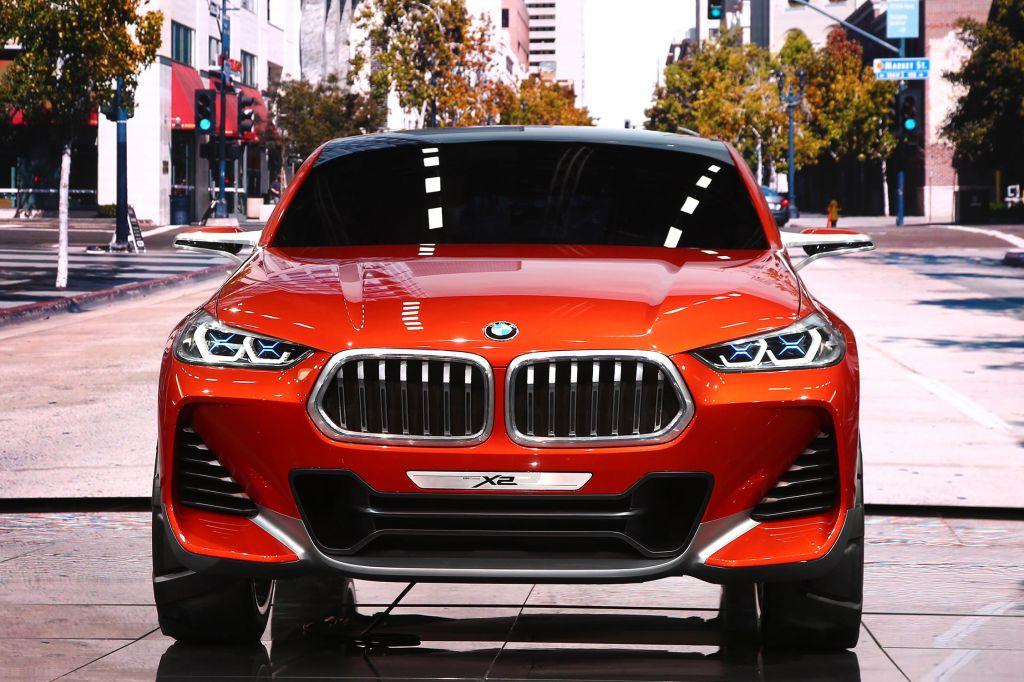 BMW X2 concept - Mondial de l'Automobile 2016.com
