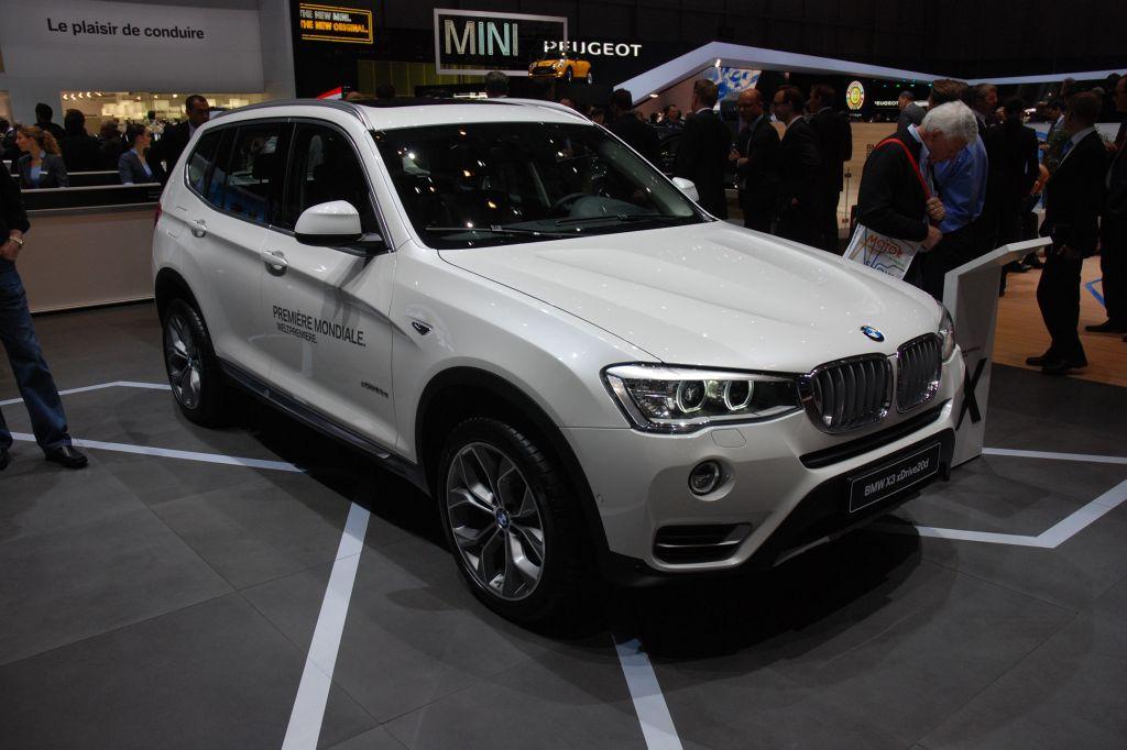 BMW X3 Restylé - Salon de Genève 2014.com