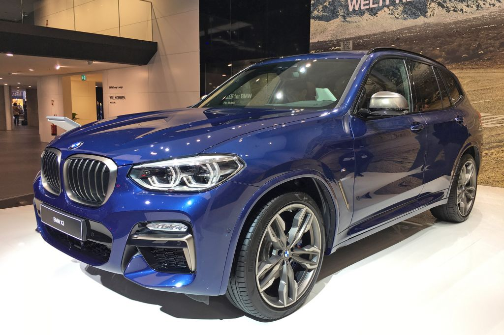 BMW X3 - Salon de Francfort 2017.com
