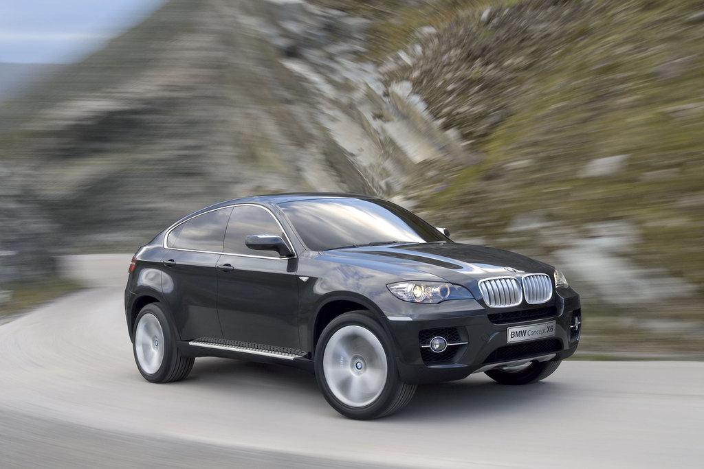 BMW Concept X6 - Salon de Francfort 2007.com