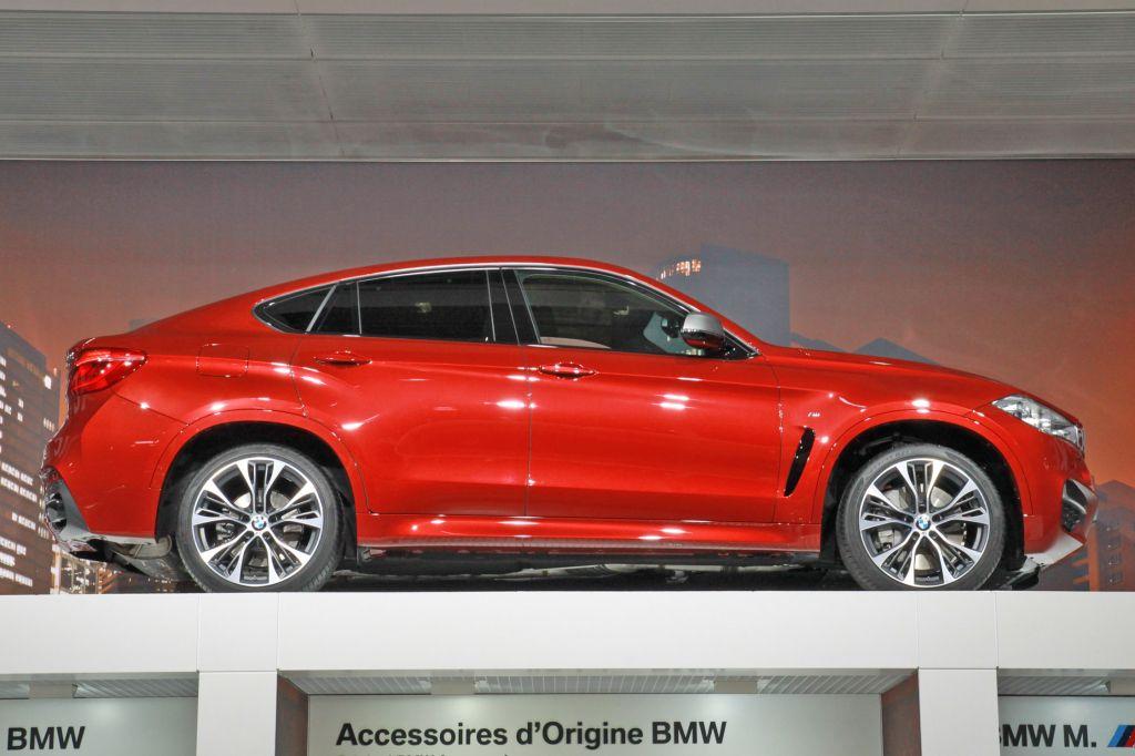 BMW X6 (F16) - Mondial de l'Automobile 2014.com