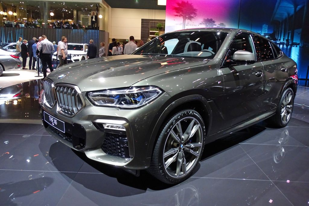 BMW X6 (G06) - Salon de Francfort 2019.com