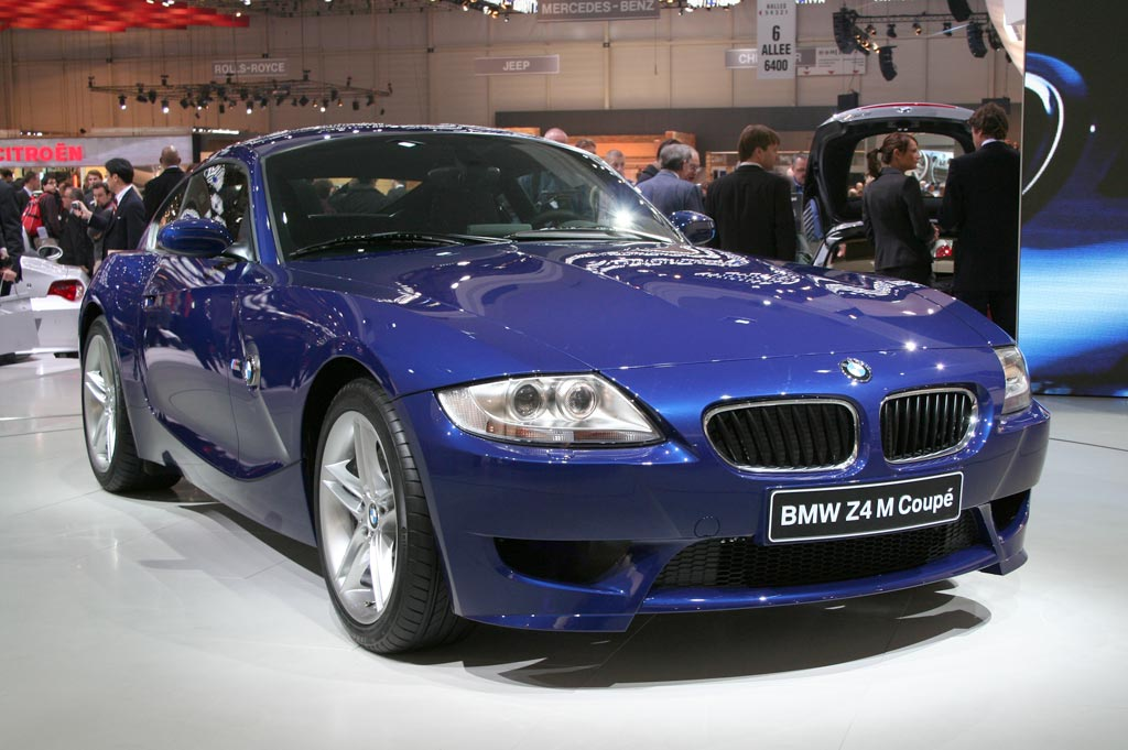 BMW Z4 M Coupé - Salon de Genève 2006.com