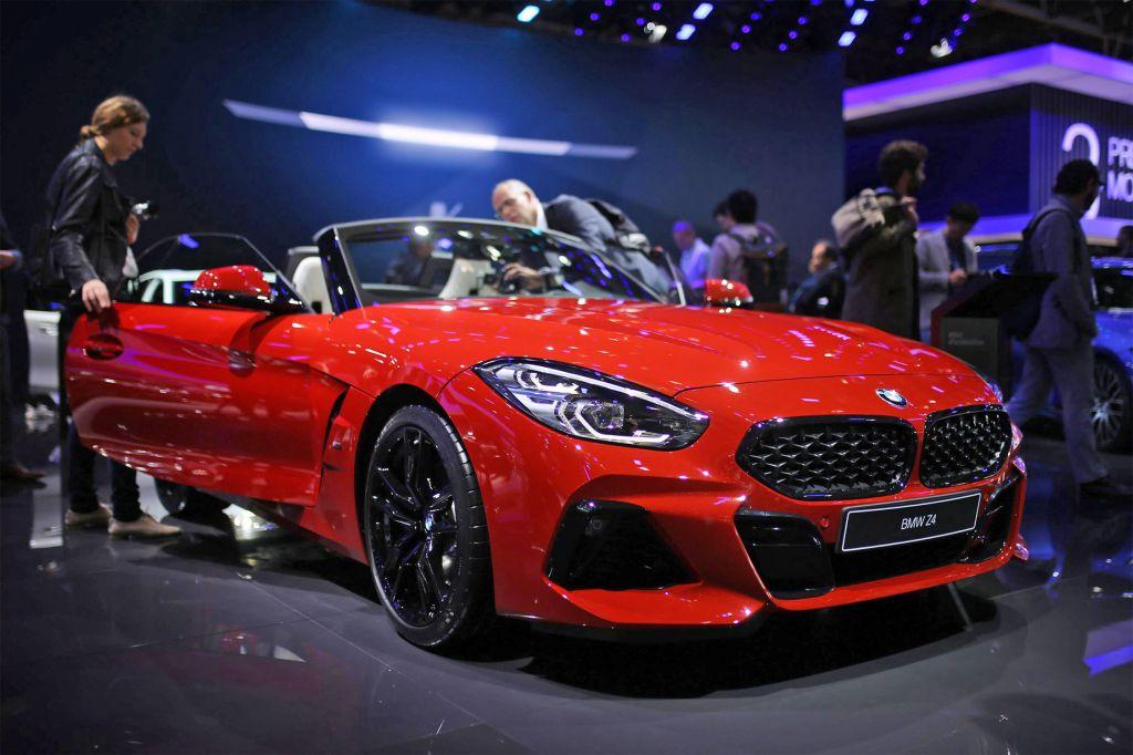 BMW Z4 - Mondial de l'Automobile 2018.com