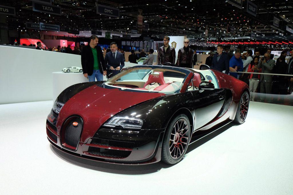 BUGATTI Veyron Grand Sport Vitesse La Finale - Salon de Genève 2015.com