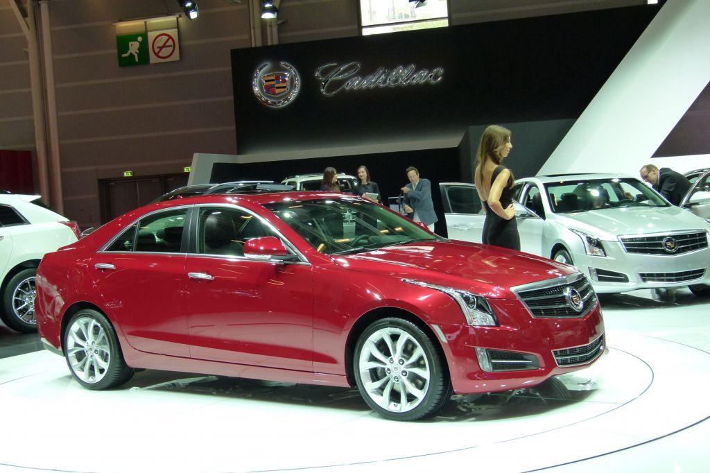 CADILLAC ATS 2013 - Mondial de l'Automobile 2012.com
