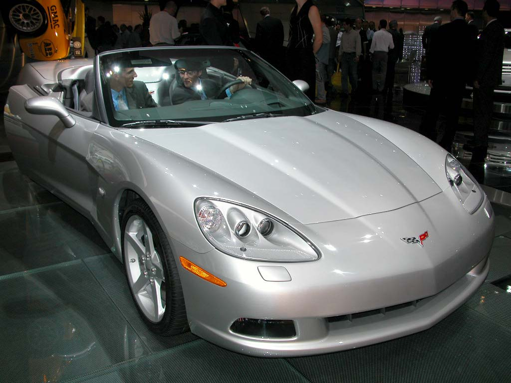 CHEVROLET Corvette C6 - Salon de Detroit 2004.com