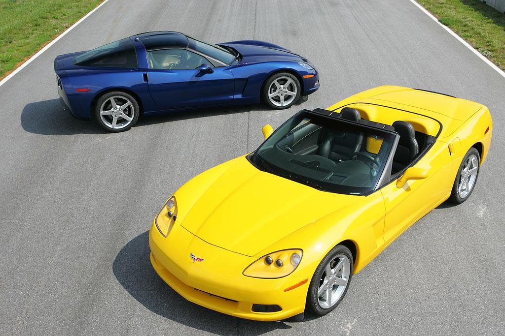CHEVROLET Corvette Z06 - Salon de Detroit 2005.com