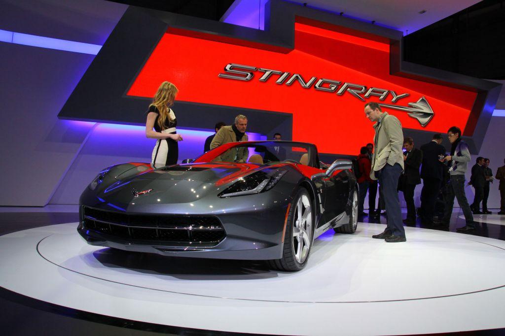 CHEVROLET Corvette C7 Stingray Cabriolet - Salon de Genève 2013.com