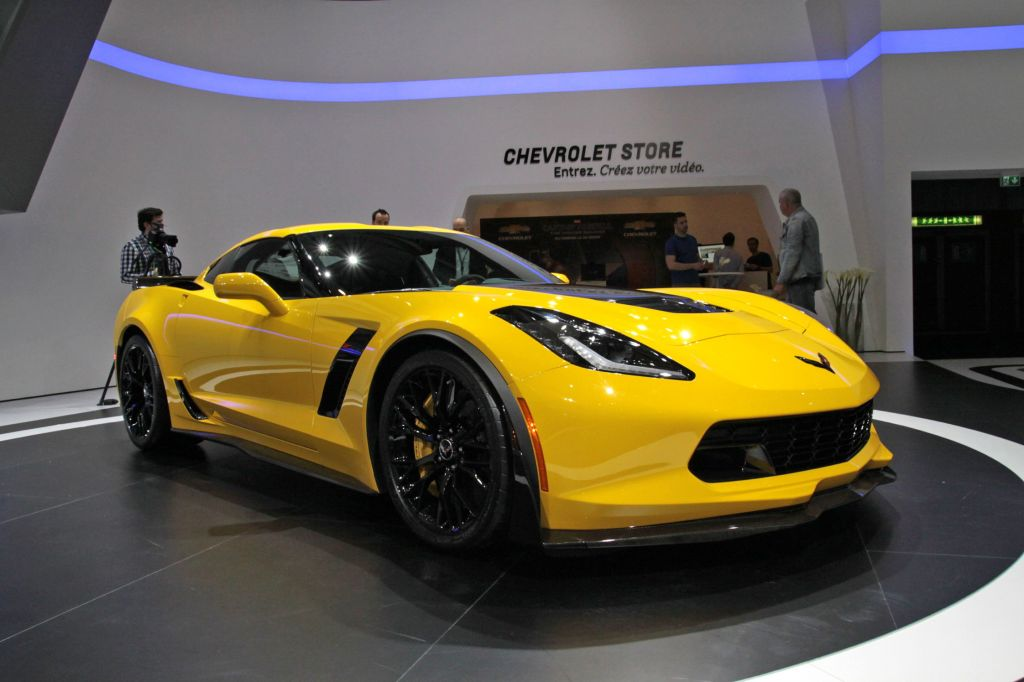 CHEVROLET Corvette C7 Z06 - Salon de Detroit 2014.com
