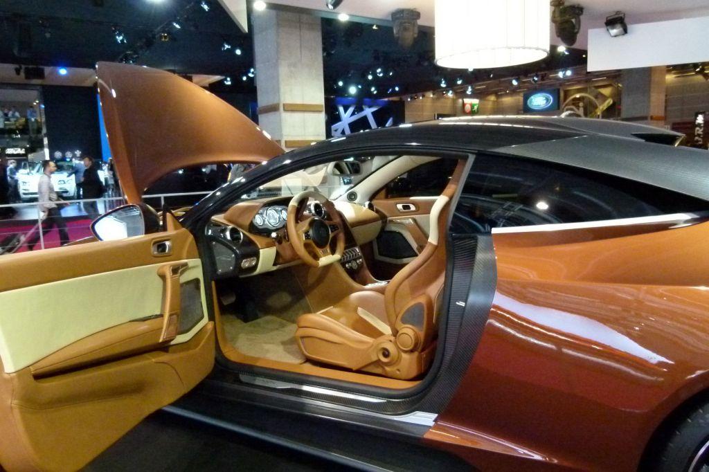 EXAGON Furtive e-GT - Mondial de l'Automobile 2012.com