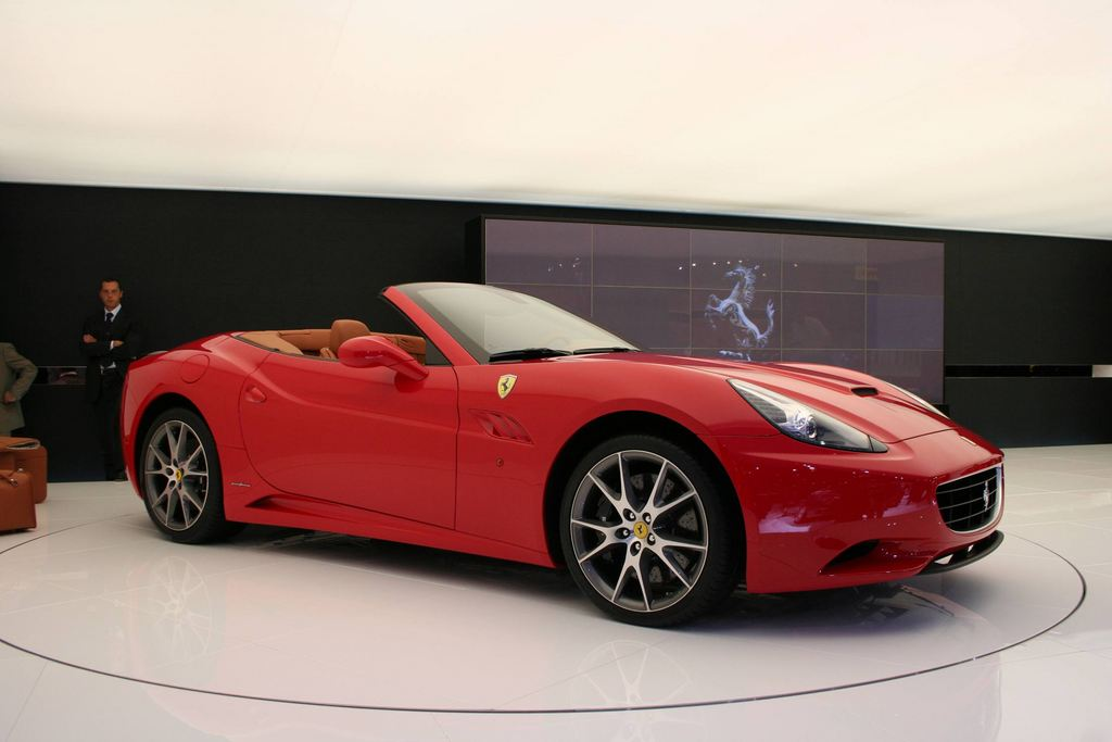 FERRARI California - Mondial automobile 2008.com
