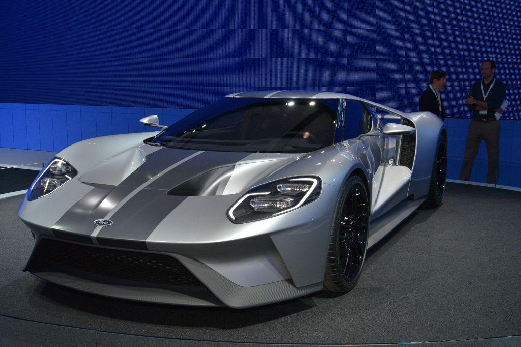 FORD USA GT V6 Ecoboost - Salon de Genève 2015.com