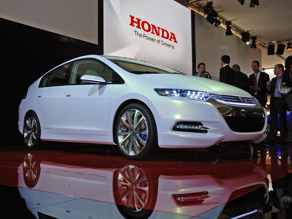 HONDA Insight hybrid - Mondial automobile 2008.com