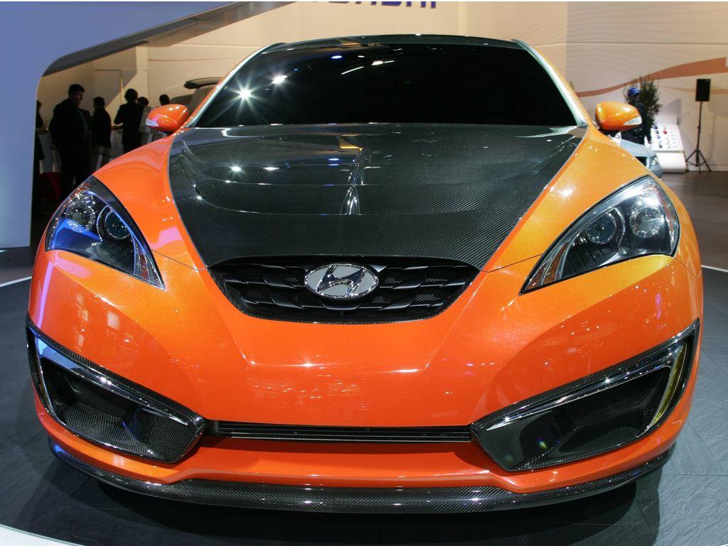 HYUNDAI Genesis Coupé - Mondial automobile 2008.com