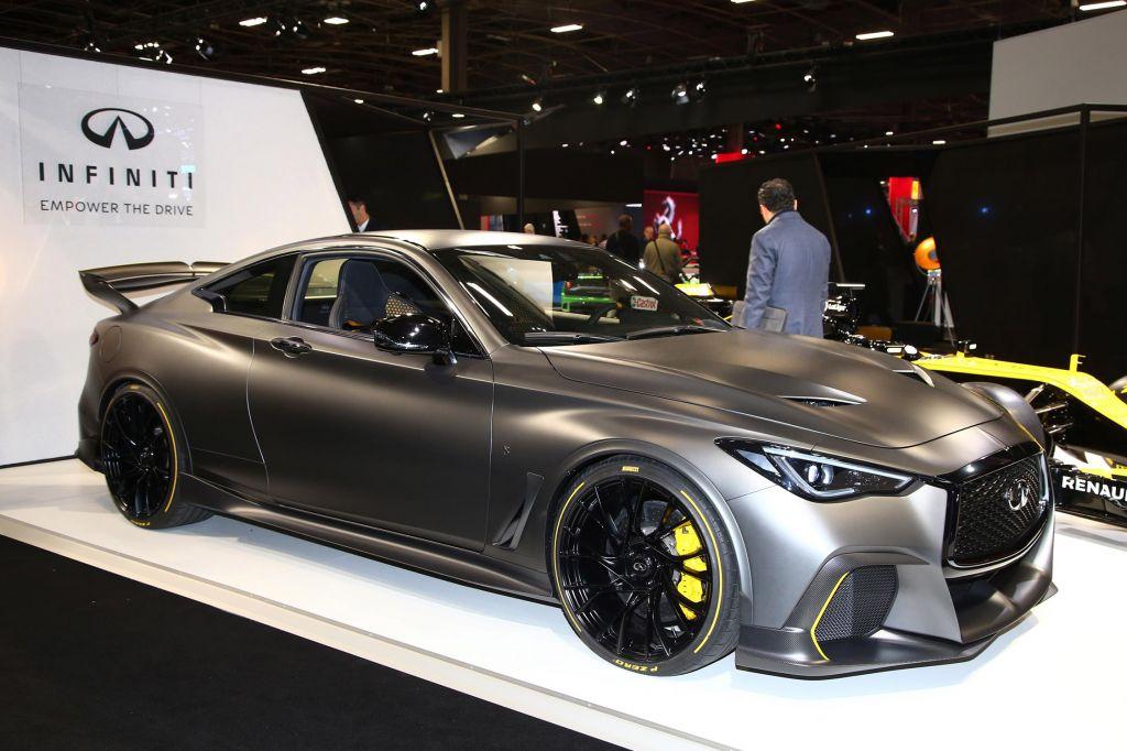 INFINITI Concept Black S - Mondial de l'Automobile 2018.com