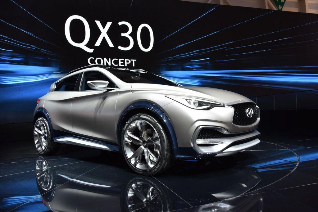 INFINITI QX30 Concept - Salon de Genève 2015.com