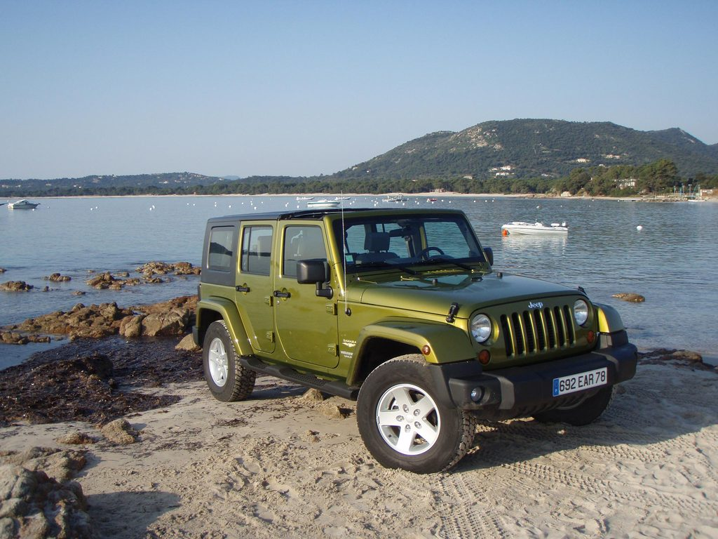 Essai JEEP Wrangler Unlimited 2.8 CRD Auto