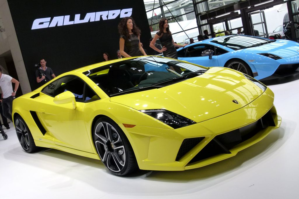 LAMBORGHINI Gallardo 2013 - Mondial de l'Automobile 2012.com