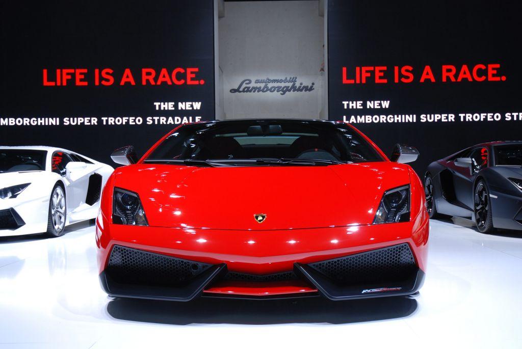 LAMBORGHINI Gallardo Super Trofeo Stradale - Salon de Francfort 2011.com