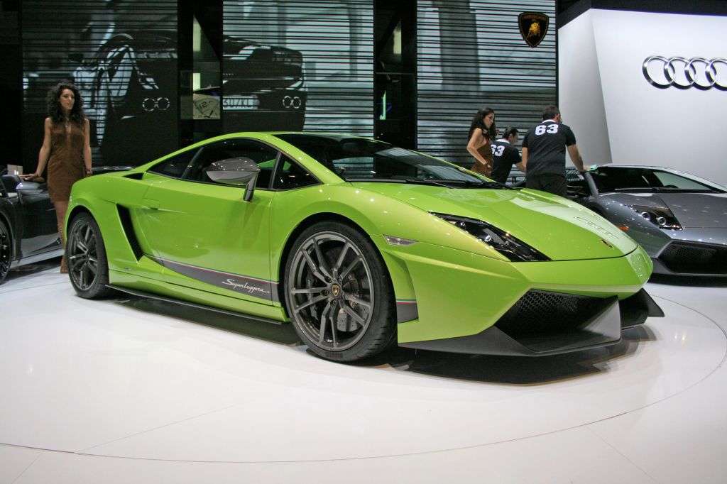 LAMBORGHINI Gallardo LP570-4 Superleggera - Salon de Genève 2010.com