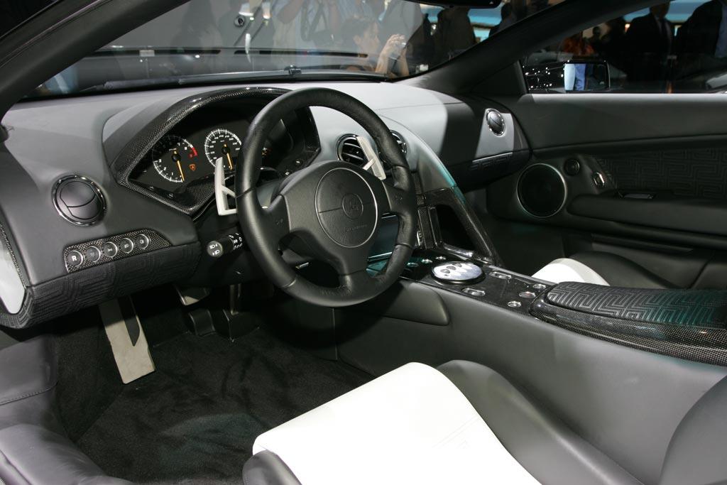 LAMBORGHINI Murciélago LP 640 Versace - Mondial de l'automobile 2006.com
