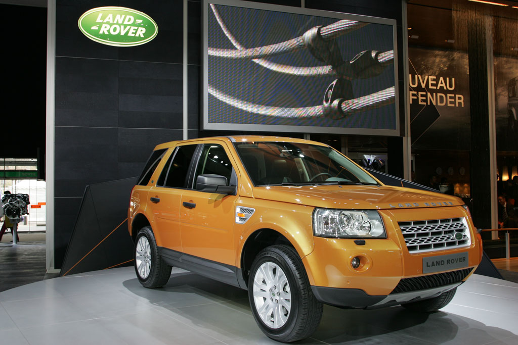 land rover freelander 2 mondial de l 39 automobile 2006. Black Bedroom Furniture Sets. Home Design Ideas