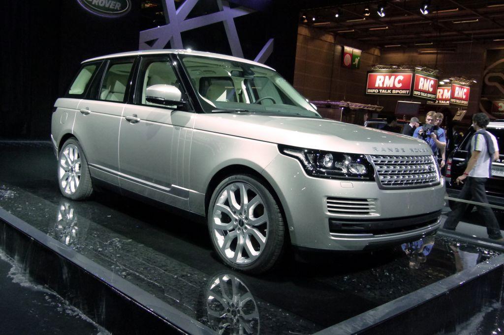LAND ROVER Range Rover (L405) - Mondial de l'Automobile 2012.com