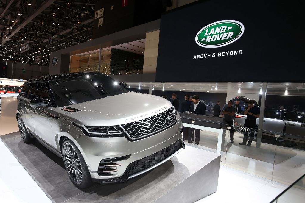 LAND ROVER Range Rover Velar - Salon de Genève 2017.com