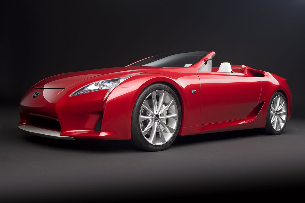 LEXUS LF-A Roadster Concept - Salon de Detroit 2008.com