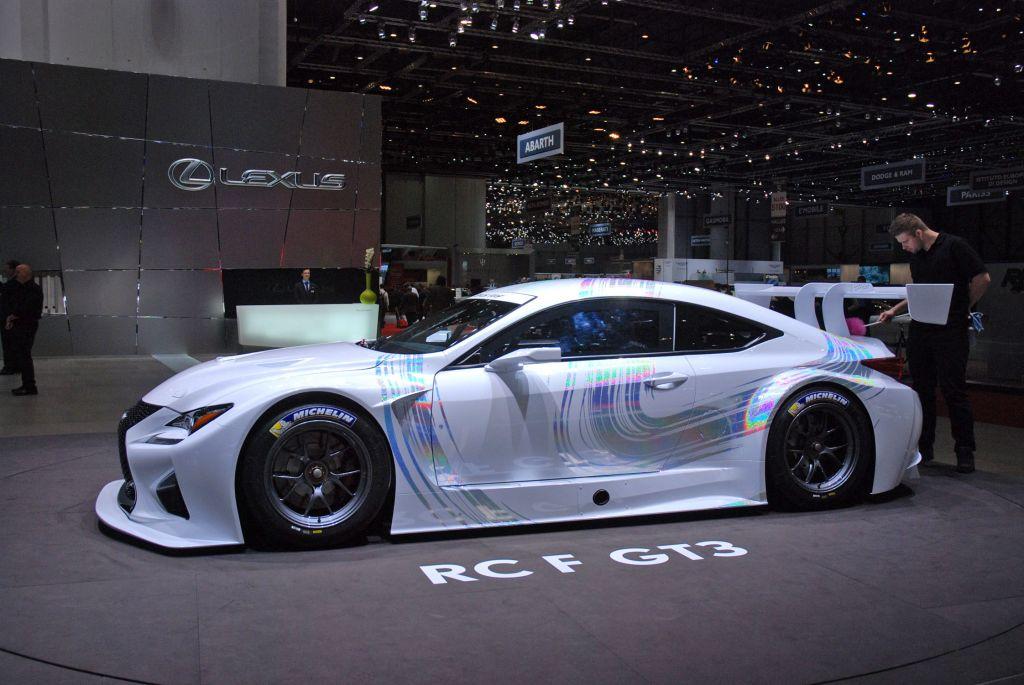 LEXUS RC F GT3 - Salon de Genève 2014.com