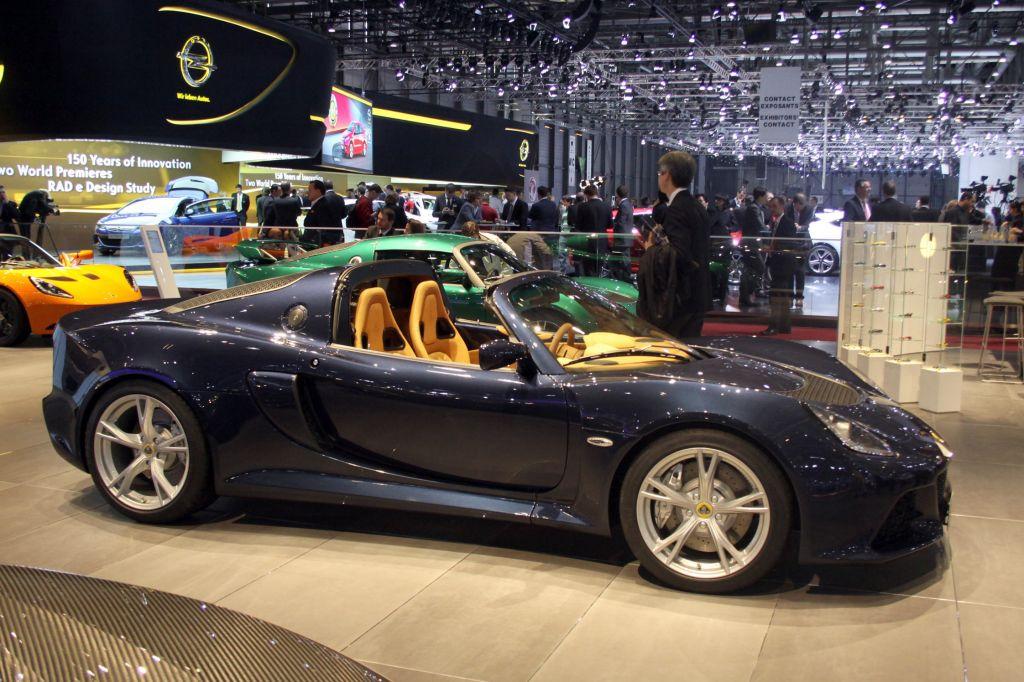 LOTUS Exige S Roadster - Salon de Genève 2012.com
