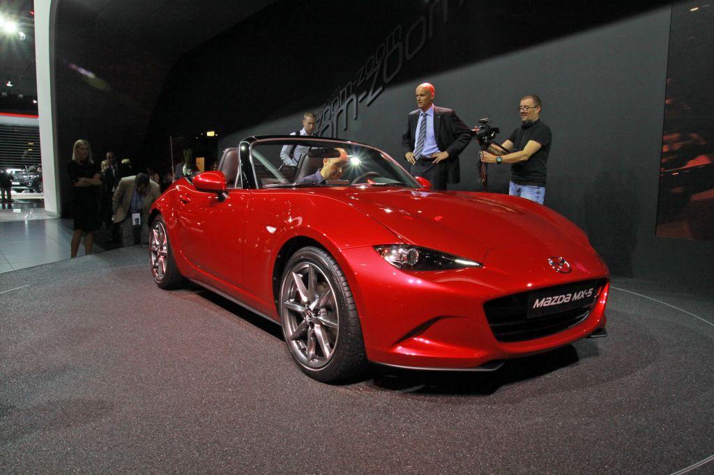 MAZDA MX-5 IV - Mondial de l'Automobile 2014.com