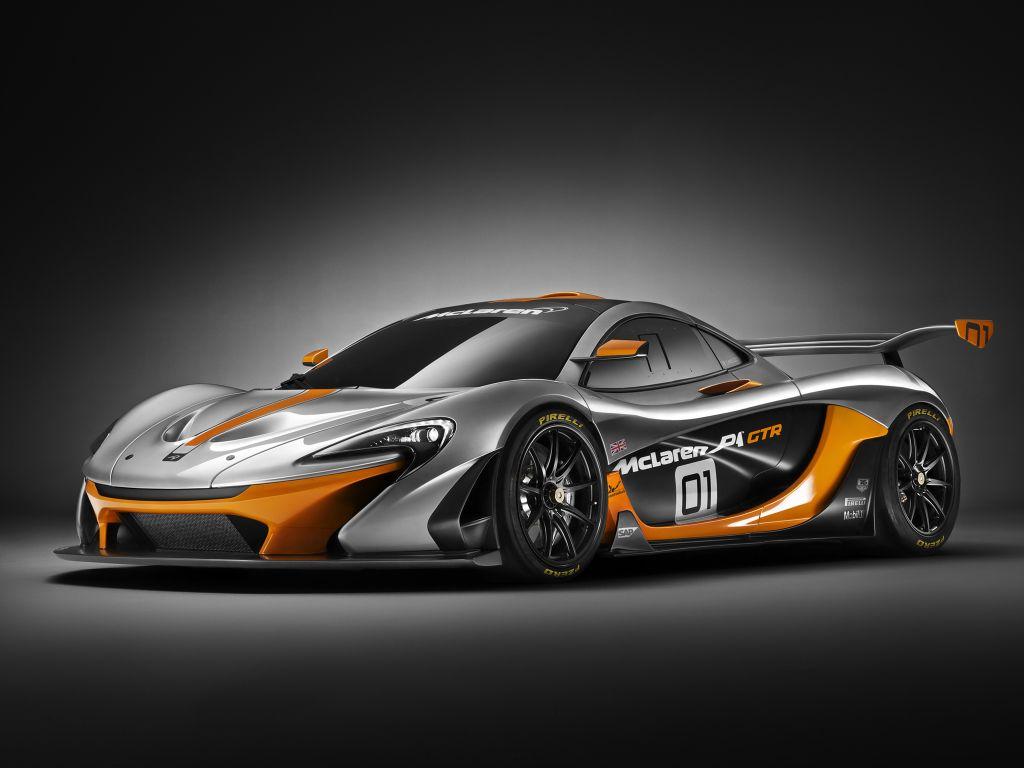 MCLAREN P1 GTR - Mondial de l'Automobile 2014.com