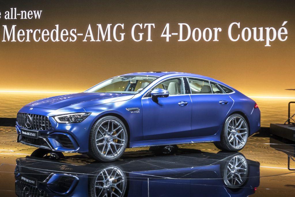 MERCEDES AMG-GT Coupé 4 portes - Salon de Genève - GIMS 2018.com