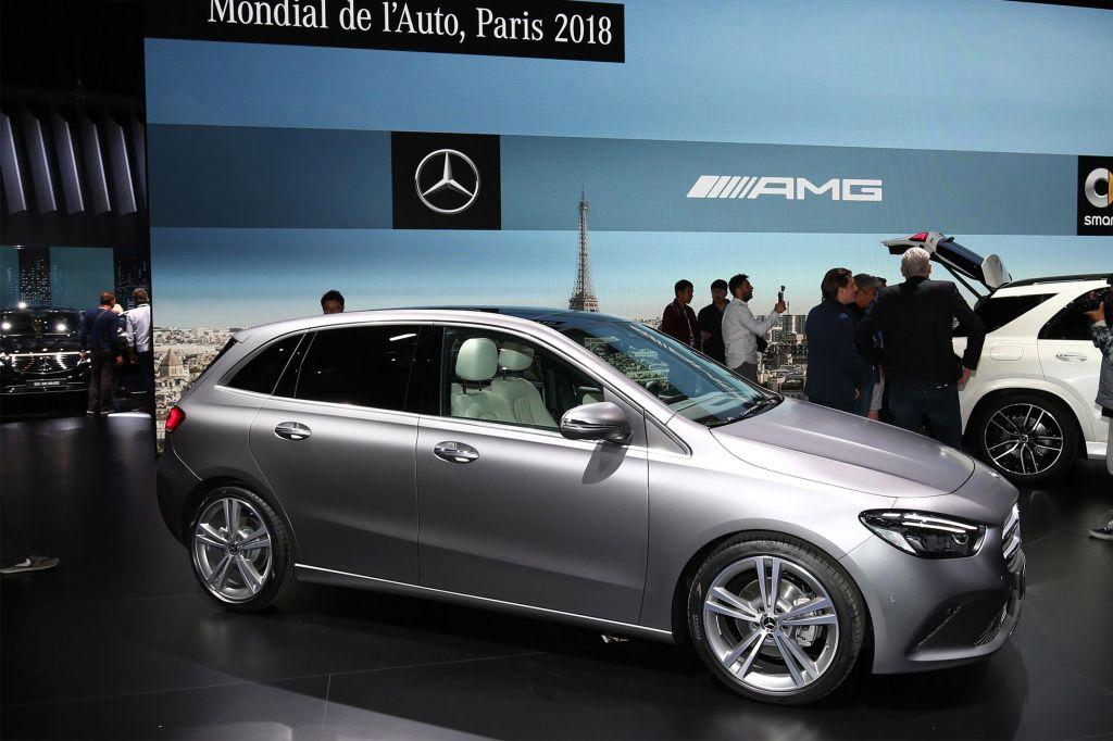 MERCEDES Classe B (W247) - Mondial de l'Automobile 2018.com