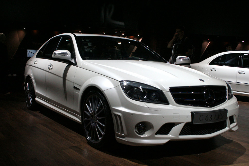 MERCEDES C63 AMG - Salon de Francfort 2007.com