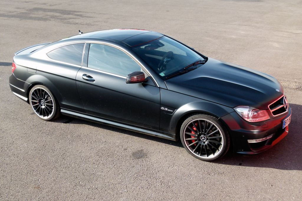 Essai MERCEDES C63 AMG Coupé