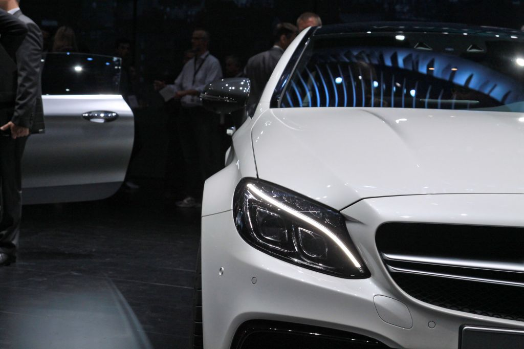 MERCEDES Classe C Coupé - Salon de Francfort 2015.com