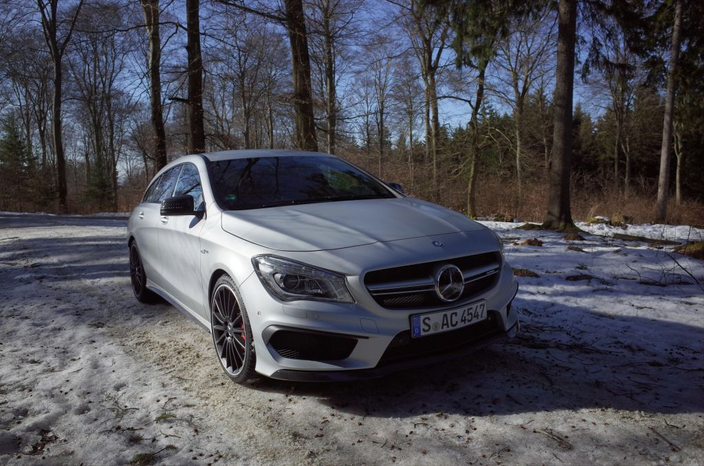 Essai MERCEDES CLA 45 AMG Shooting Brake