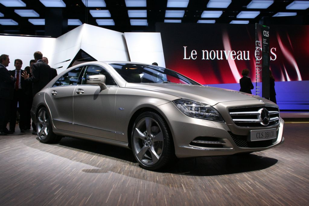 MERCEDES CLS - Mondial automobile de Paris 2010.com
