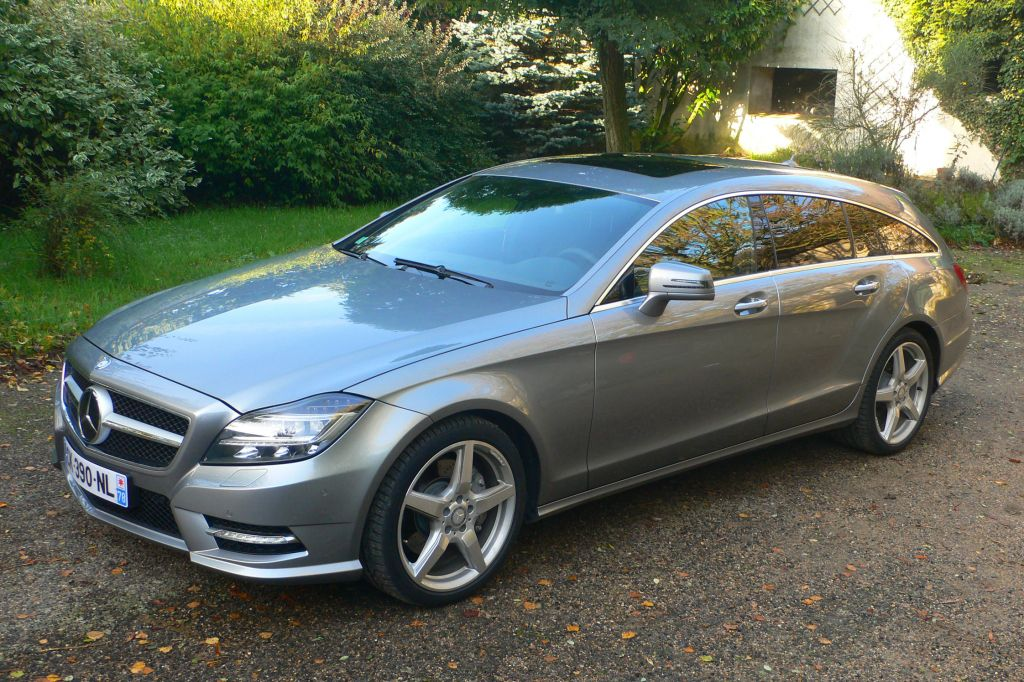 MERCEDES CLS Shooting Brake - Mondial de l'Automobile 2012.com