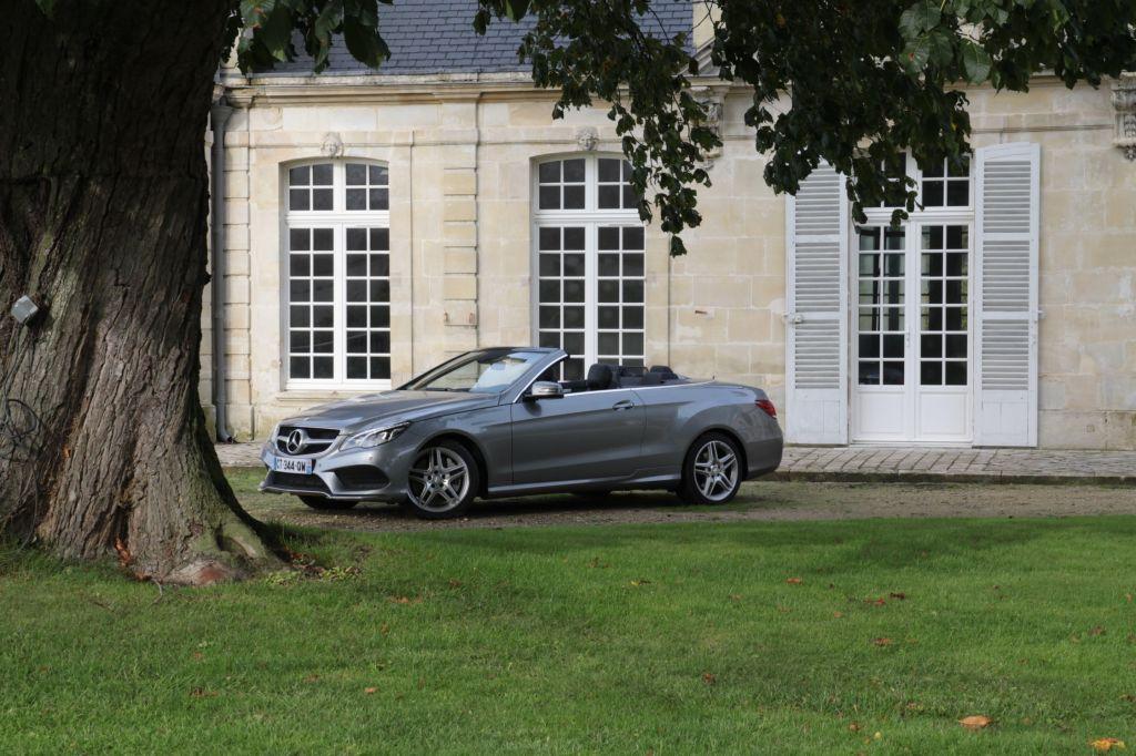 Essai MERCEDES E500 Cabriolet