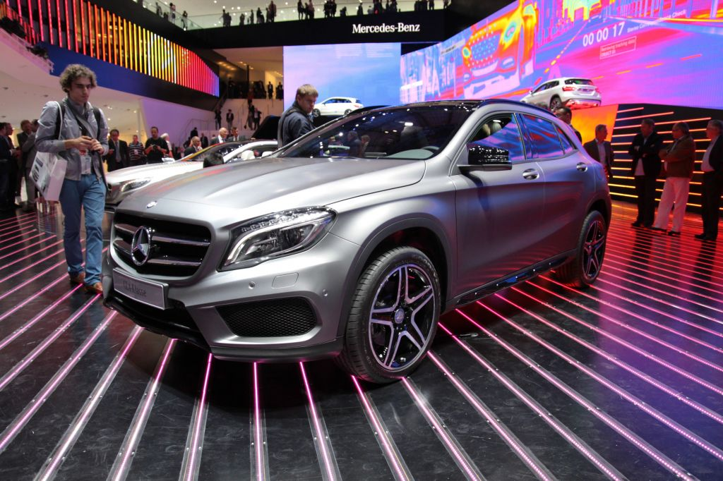 MERCEDES GLA - Salon de Francfort 2013.com