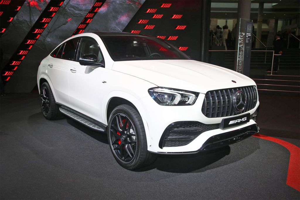 MERCEDES GLE Coupé - Salon de Francfort 2019.com