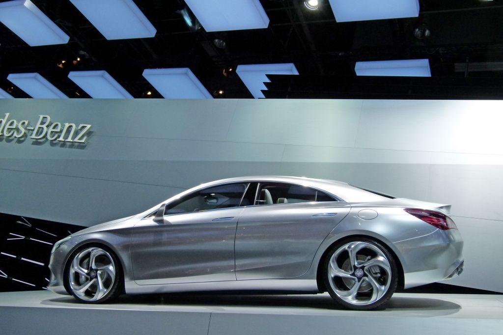MERCEDES Concept Style Coupé - Mondial de l'Automobile 2012.com