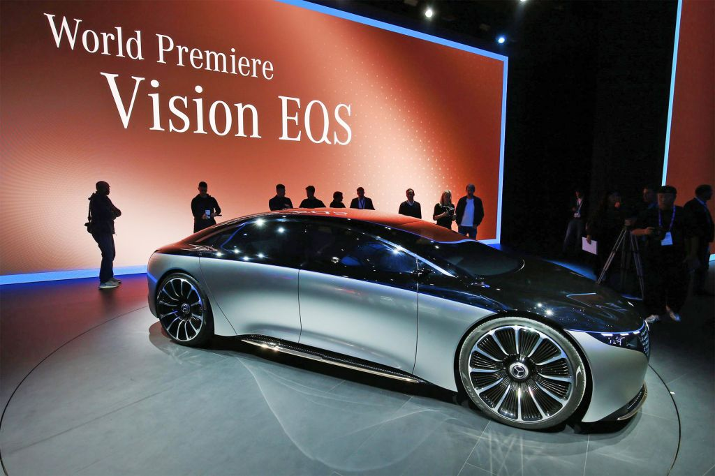 MERCEDES Vision EQS - Salon de Francfort 2019.com