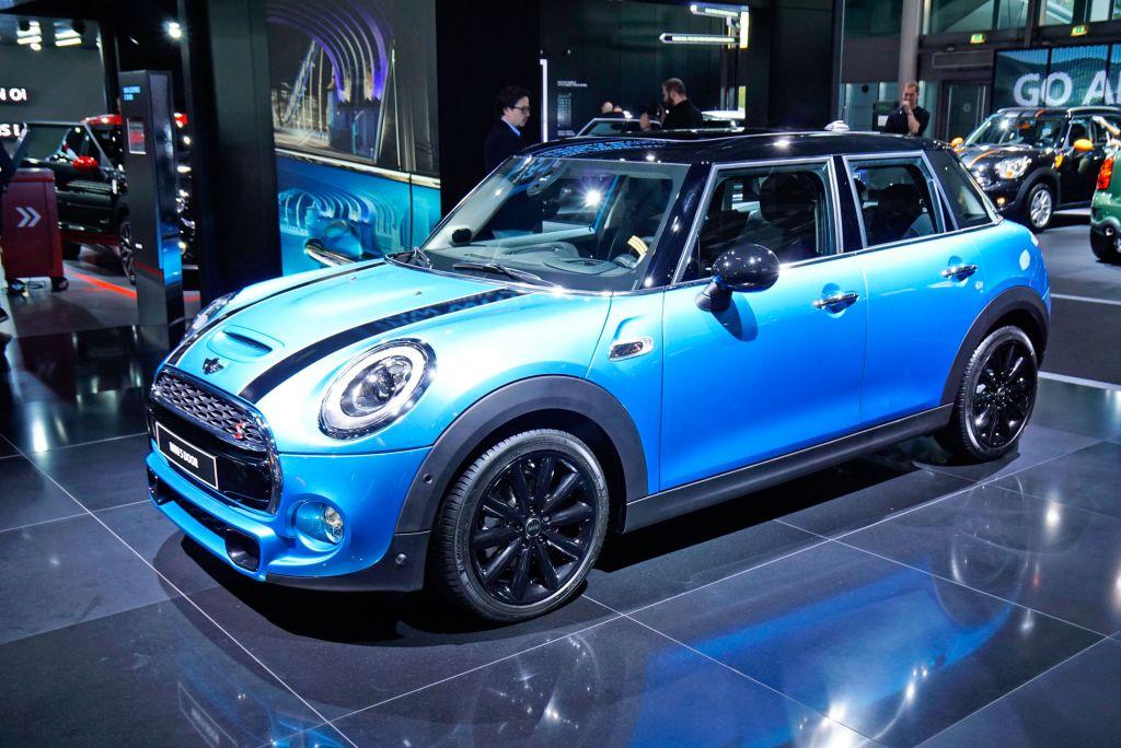 MINI 5 portes - Mondial de l'Automobile 2014.com