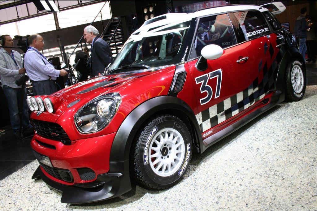 MINI Countryman WRC - Mondial automobile de Paris 2010.com