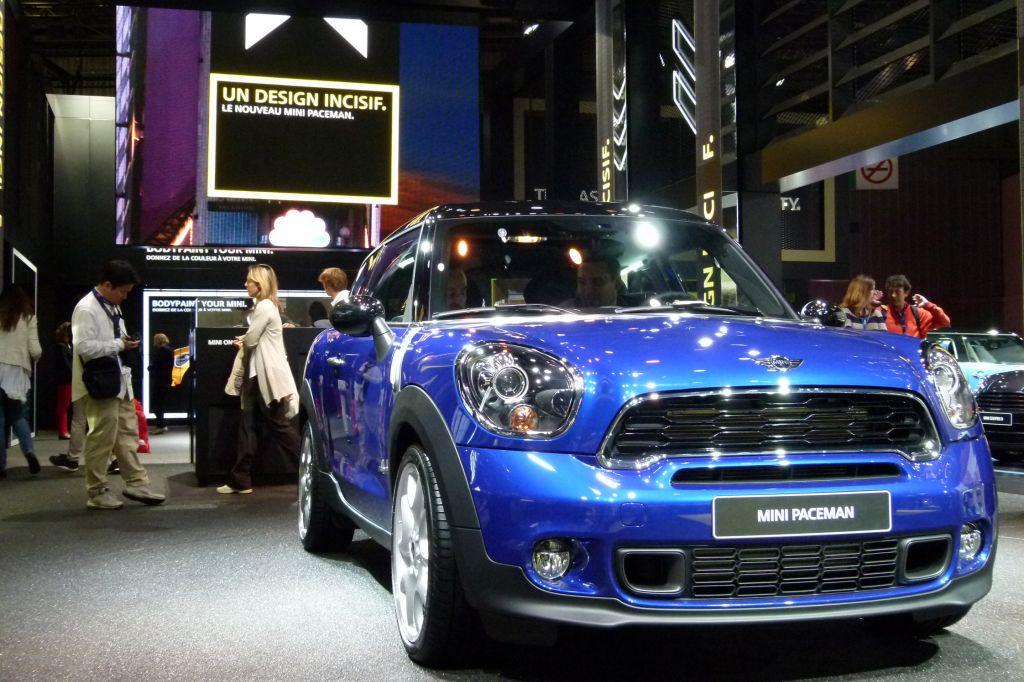 MINI Paceman - Mondial de l'Automobile 2012.com